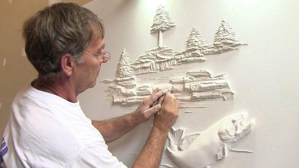 3D-Wand-Kunst von Bernie Mitchell | Design/Kunst | Was is hier eigentlich los?