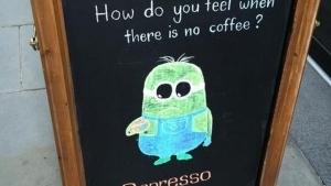 Ein Montag ohne Kaffee ist falsch, einfach nur falsch | Lustiges | Was is hier eigentlich los? | wihel.de