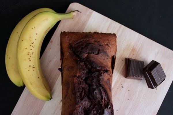 Line backt schokoladiges Marmor-Bananenbrot | Line backt | Was is hier eigentlich los?