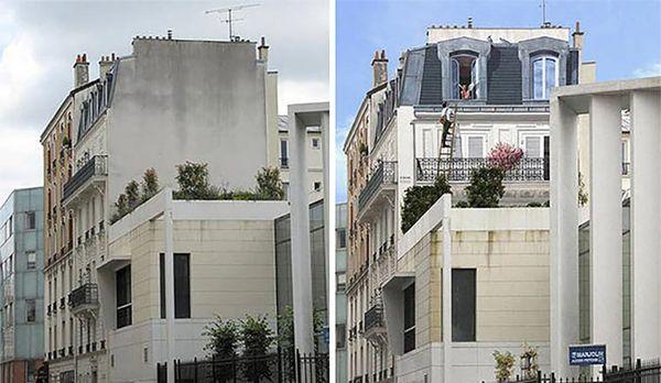 Patrick Commecy malt Hauswände an Hauswände | Design/Kunst | Was is hier eigentlich los?