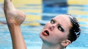 Synchronschwimmer und ihre Gesichter | Lustiges | Was is hier eigentlich los? | wihel.de