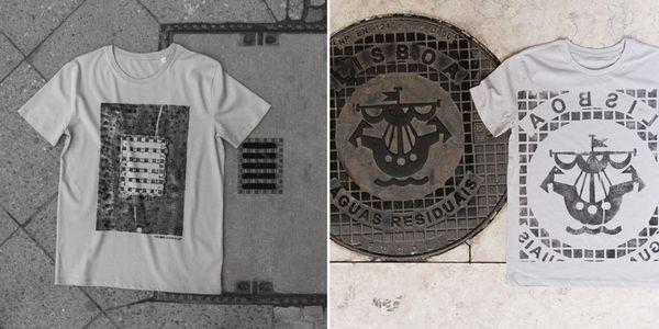 Umgekehrte Street-Art: Druck dir deine Stadt aufs Shirt