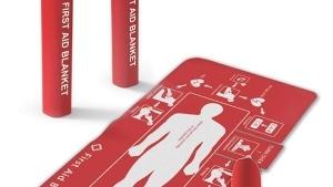 Das Erste Hilfe-Tuch | Gadgets | Was is hier eigentlich los? | wihel.de