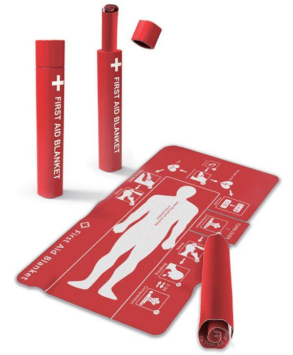 Das Erste Hilfe-Tuch | Gadgets | Was is hier eigentlich los?