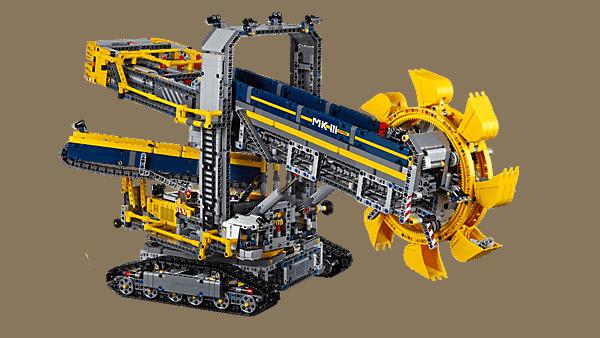 Ein riesiger Schaufelradbagger aus LEGO | Gadgets | Was is hier eigentlich los?