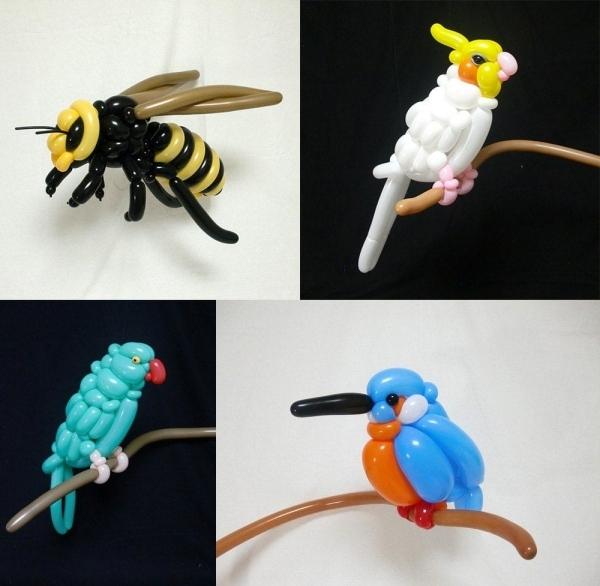 Luftballon-Tiere von Masayoshi Matsumoto | Design/Kunst | Was is hier eigentlich los? | wihel.de