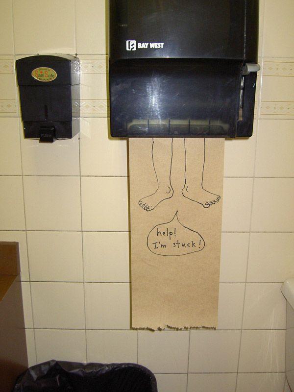 Marc Johns bemalt Papierhandtücher | Design/Kunst | Was is hier eigentlich los?