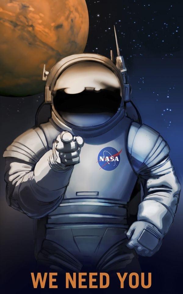 So wirbt die NASA für Stellen, die es gar nicht gibt | Design/Kunst | Was is hier eigentlich los?
