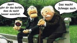Sport oder Schnaps | Lustiges | Was is hier eigentlich los? | wihel.de