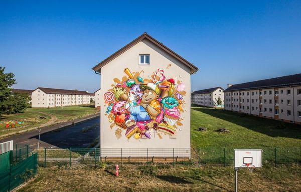 Starkes Street-Art-Projekt in Mannheim: Stadt.Wand.Kunst. | Design/Kunst | Was is hier eigentlich los?