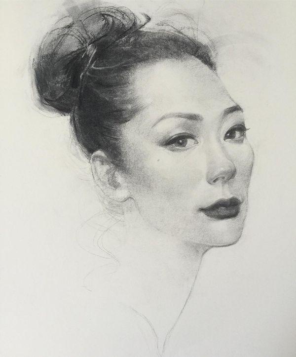 Tolle Kohle-Portraits von Oliver Sin | Design/Kunst | Was is hier eigentlich los?