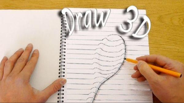 Wie man recht einfach 3D-Bilder zeichnet | Was gelernt | Was is hier eigentlich los?