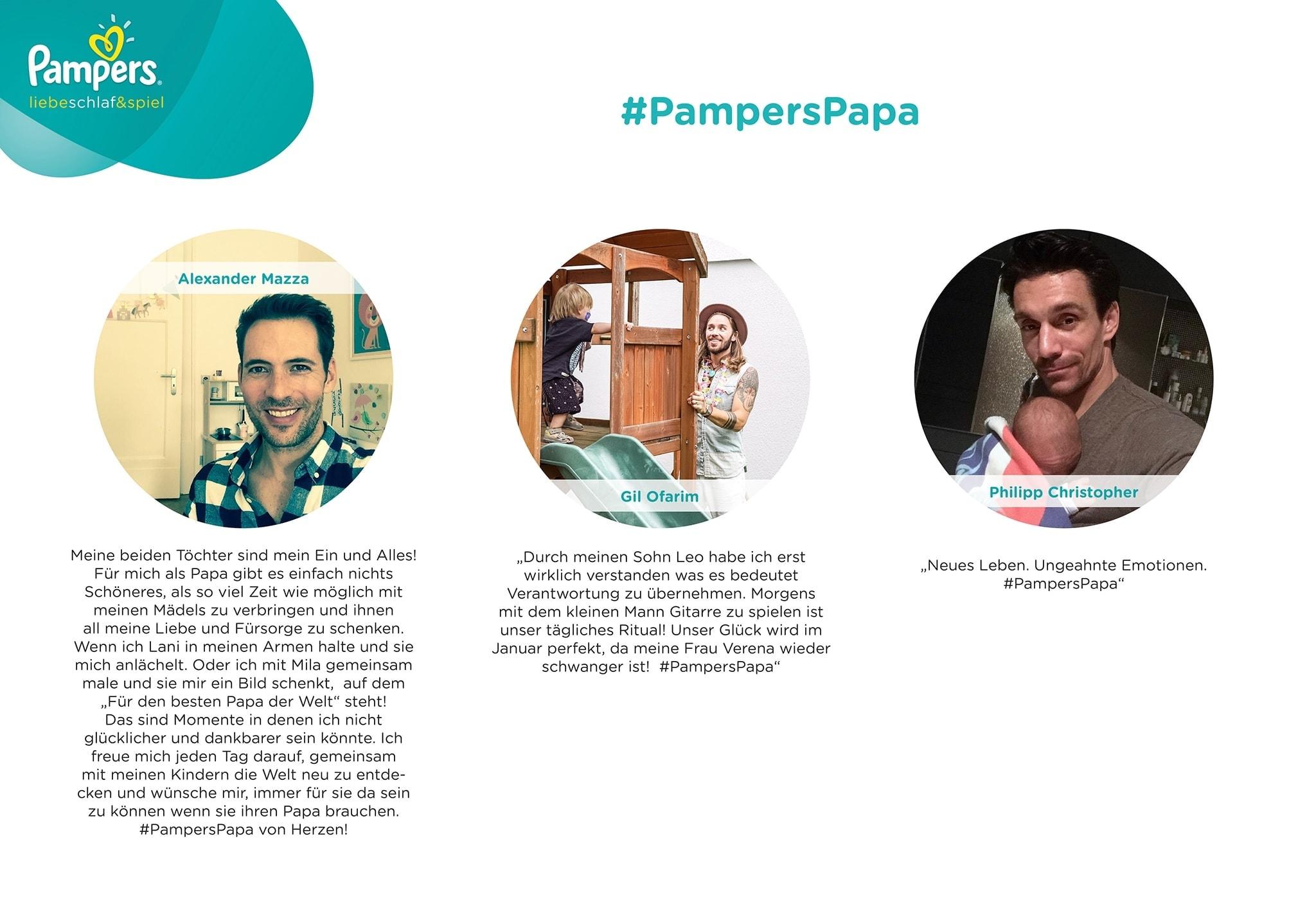 Der Pampers-Papa - Weils einfach selbstverständlich ist | sponsored Posts | Was is hier eigentlich los?
