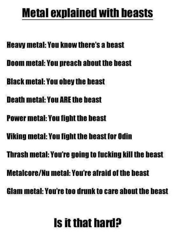 Die verschiedenen Metal-Genres anschaulich erklärt | Musik | Was is hier eigentlich los?