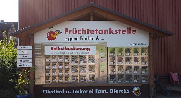 Ein Obst-Automat im Alten Land | Travel | Was is hier eigentlich los?