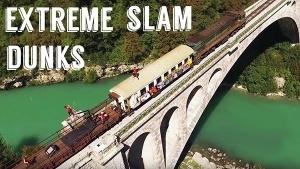 Extreme Slam Dunks auf einem fahrenden Zug | Awesome | Was is hier eigentlich los? | wihel.de