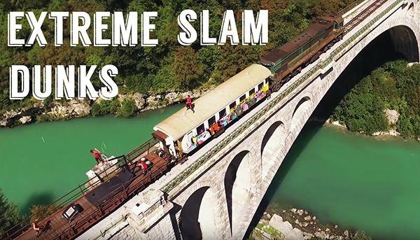 Extreme Slam Dunks auf einem fahrenden Zug | Awesome | Was is hier eigentlich los?