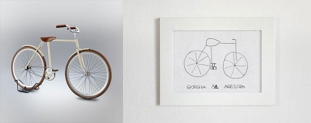 Fahrrad aus dem Gedächtnis gemalt - So würde es in Echt aussehen | Design/Kunst | Was is hier eigentlich los?