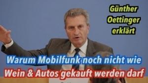 Gedanken-Tüdelüt (29): Günther Oettinger - Ist der Kunst oder kann der weg?