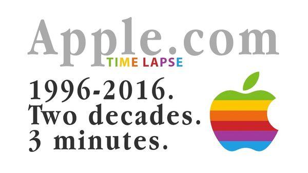 Die Apple-Webseite in den letzten 20 Jahren | Nerd-Kram | Was is hier eigentlich los?