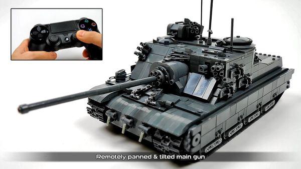 Ein Lego-Panzer, der ferngesteuert werden kann | Gadgets | Was is hier eigentlich los?