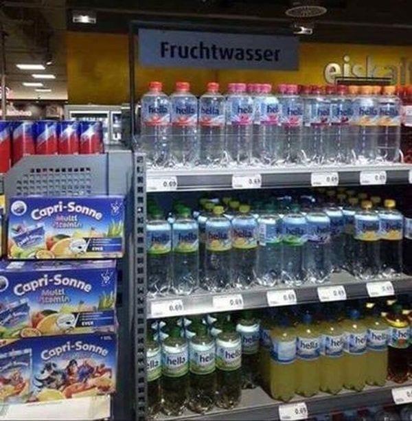 Endlich auch ohne Geburt: Fruchtwasser im Supermarkt | Lustiges | Was is hier eigentlich los?