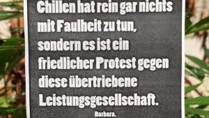 Für ein Recht auf Chillen | Lustiges | Was is hier eigentlich los? | wihel.de