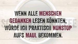 Wenn alle Menschen Gedanken lesen könnten ... | Lustiges | Was is hier eigentlich los? | wihel.de