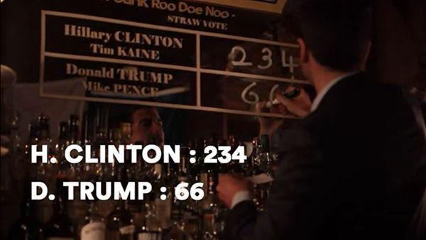 Die älteste Cocktail-Bar in Paris sagt die US-Wahl voraus | Travel | Was is hier eigentlich los?