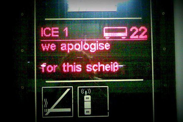 Die Bahn entschuldigt sich | Lustiges | Was is hier eigentlich los?