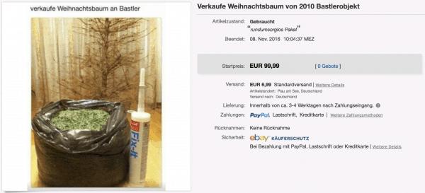 Ein Weihnachtsbaum zum Selberbasteln | Lustiges | Was is hier eigentlich los? | wihel.de