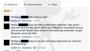 Endlich der Beweis: Der Mensch stammt gar nicht vom Affen ab | Lustiges | Was is hier eigentlich los? | wihel.de