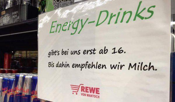 Energy-Drinks gibts nur noch ab 16 Jahren | Lustiges | Was is hier eigentlich los?