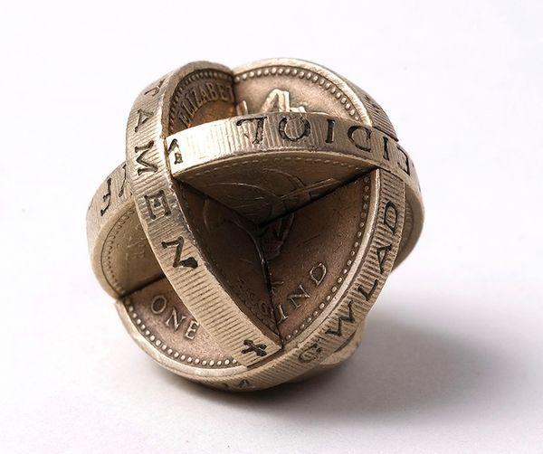 Kleingeld-Kunst von Robert Wechsler | Design/Kunst | Was is hier eigentlich los? | wihel.de