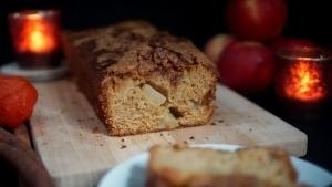 Line backt Kürbis-Apfelkuchen mit Zimt-Crunch | Line backt | Was is hier eigentlich los? | wihel.de