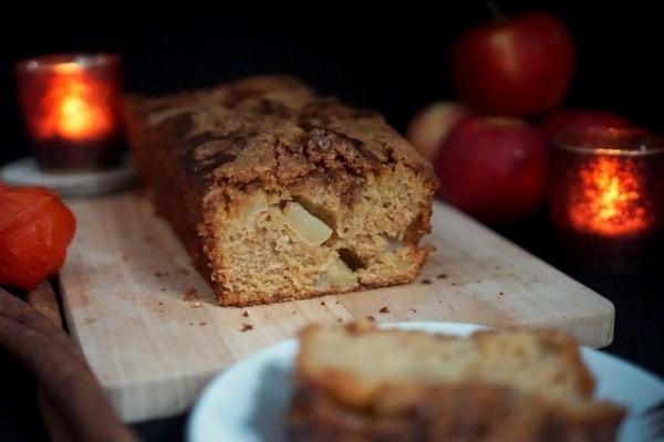 Line backt Kürbis-Apfelkuchen mit Zimt-Crunch | Line backt | Was is hier eigentlich los?