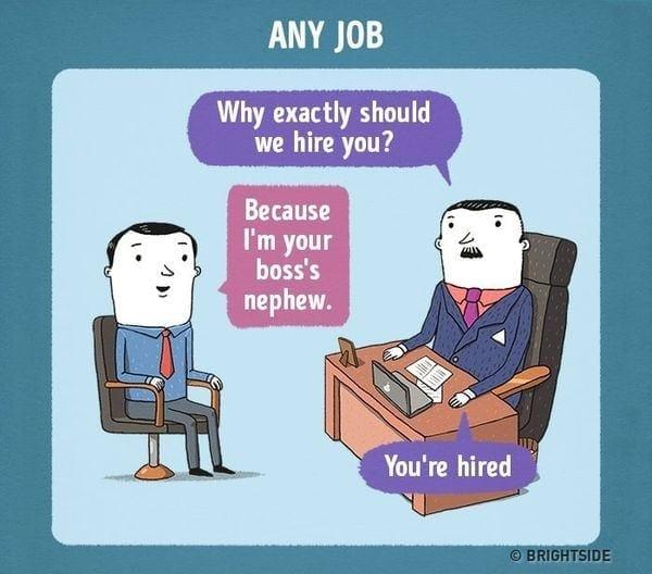 Nicht ganz ernstzunehmende Job-Interviews von Leonid Khan | Lustiges | Was is hier eigentlich los?