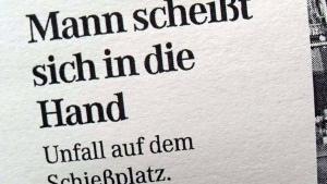 Unfall auf dem Schießplatz | Lustiges | Was is hier eigentlich los? | wihel.de