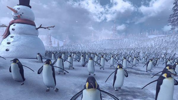 11.000 Pinguine und 4.000 Weihnachtsmänner verkloppen sich | WTF | Was is hier eigentlich los?