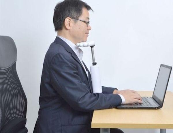 Braucht jeder: eine Kopfstütze für den Schreibtisch | Gadgets | Was is hier eigentlich los?