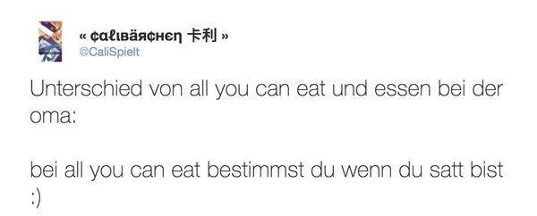 Der Unterschied zwischen All you can eat und Essen bei Oma | Lustiges | Was is hier eigentlich los?