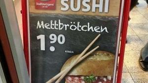 Deutsches Sushi | Lustiges | Was is hier eigentlich los? | wihel.de