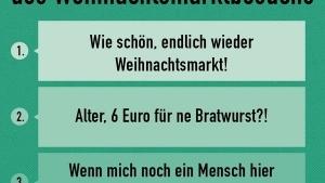 Die 3 Stufen des Weihnachtsmarktbesuches | Lustiges | Was is hier eigentlich los? | wihel.de