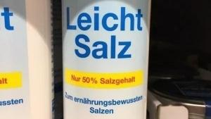 Endlich: Salz mit weniger Salz! | Lustiges | Was is hier eigentlich los? | wihel.de