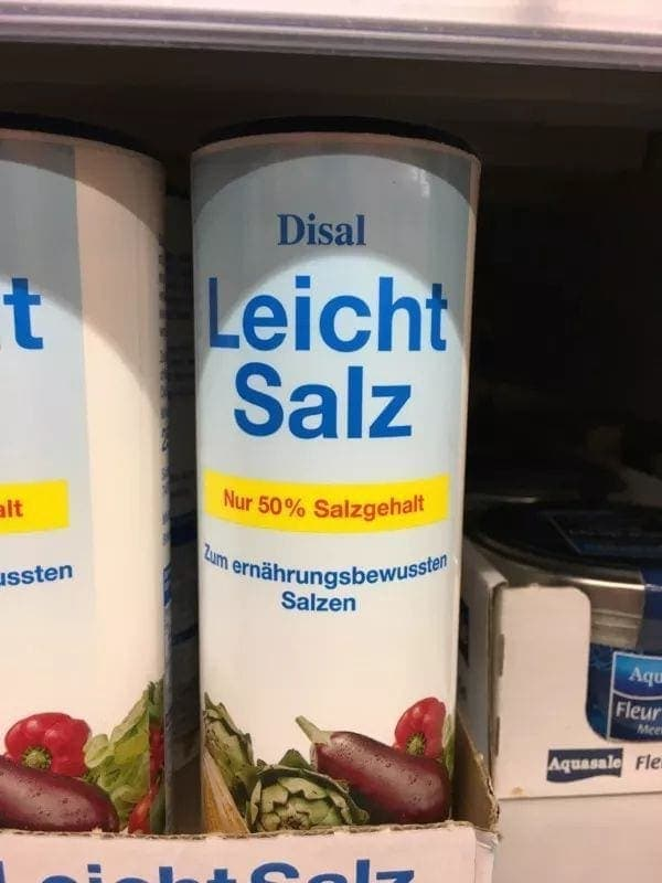 Endlich: Salz mit weniger Salz! | Lustiges | Was is hier eigentlich los?