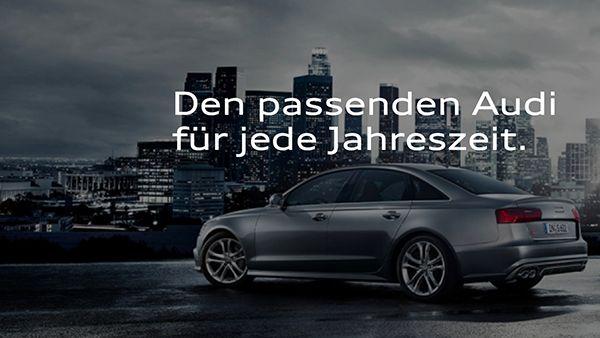 Audi select - Weil man sich einfach nicht festlegen muss | sponsored Posts | Was is hier eigentlich los?