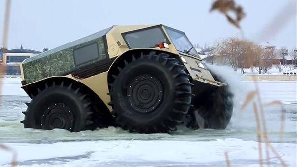 Der ATV Sherp - Offroad, wie er nur aus Russland kommen kann | Gadgets | Was is hier eigentlich los?