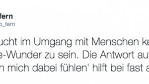 Es braucht nicht viel im Umgang mit Menschen | Menschen | Was is hier eigentlich los? | wihel.de
