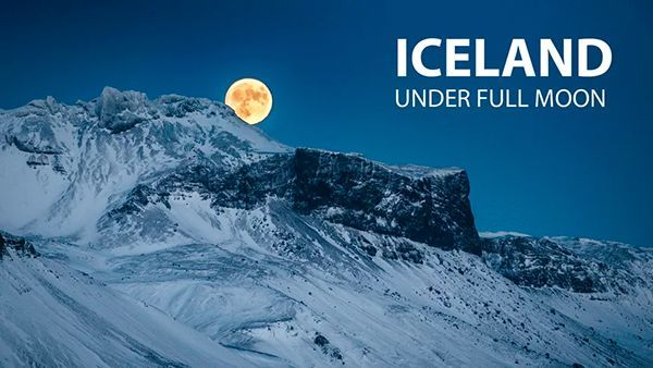 Iceland under Full Moon | Travel | Was is hier eigentlich los?
