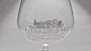 Landschaften in Gläsern -